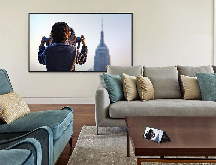 تلویزیون ال ای دی سامسونگ مدل NU7100 سایز 49 اینچ