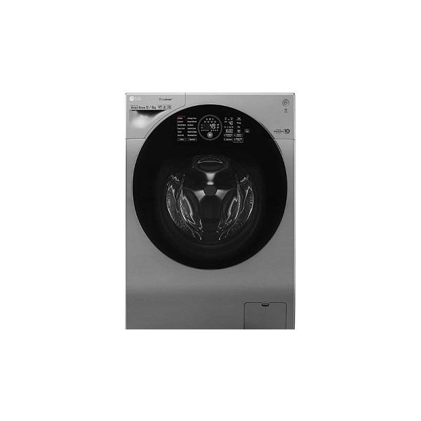 ماشین لباسشویی ال جی مدل FH6G1BCHK6N نقره ای